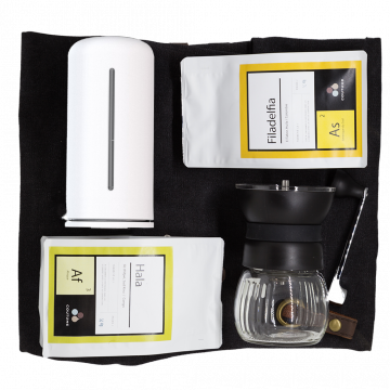 Kit French Press Blanc
